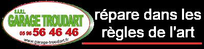 Garage TROUDART s.a.r.l. Logo